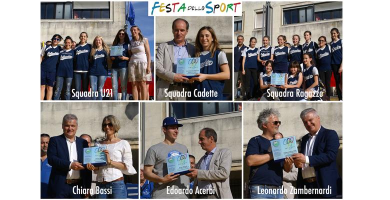 Festa dello Sport: tunnel gonfiabile e premiazioni