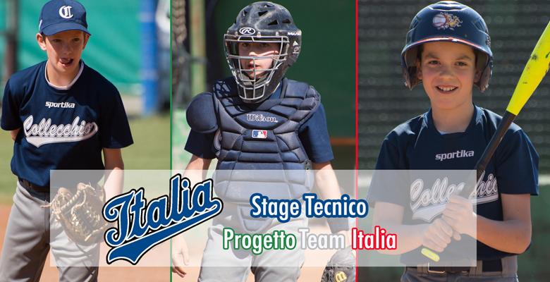U12 Stage Tecnico Team Italia: Boselli, Codeluppi e Grassani convocati