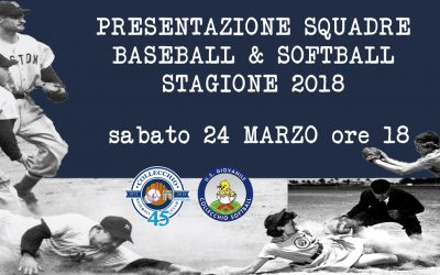 Presentazione squadre e intenso weekend di Spring Training
